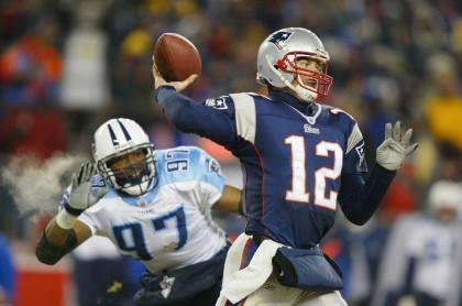 AFC Divisional Playoffs: Titans v Patriots