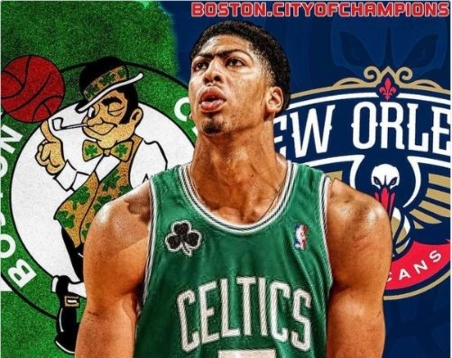 on sale ff77c fa5fd Anthony Davis NOT Traded Before Deadline. Lakers Now Salty ...
