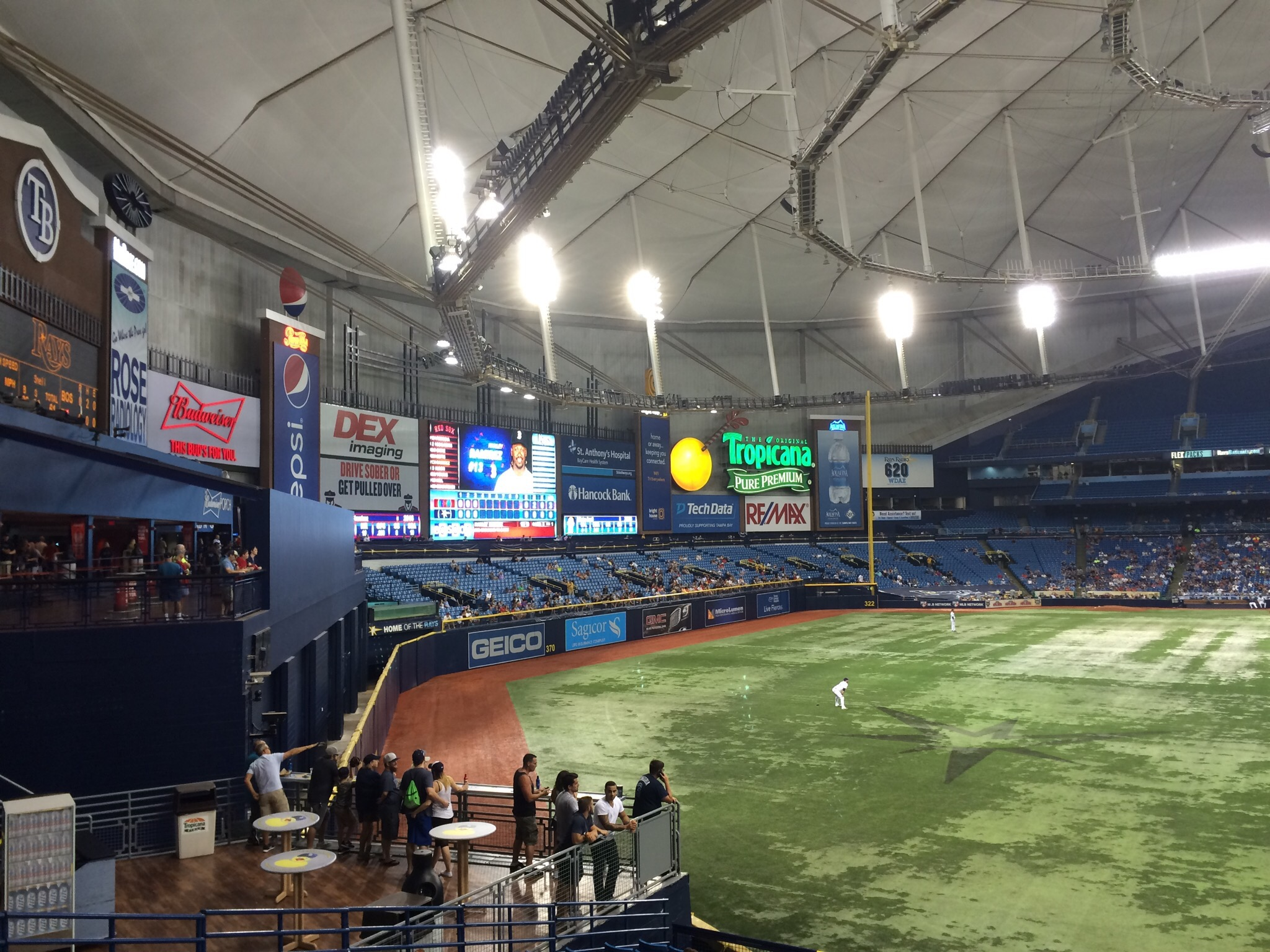 The 300s Reviews Tropicana Field The 300s